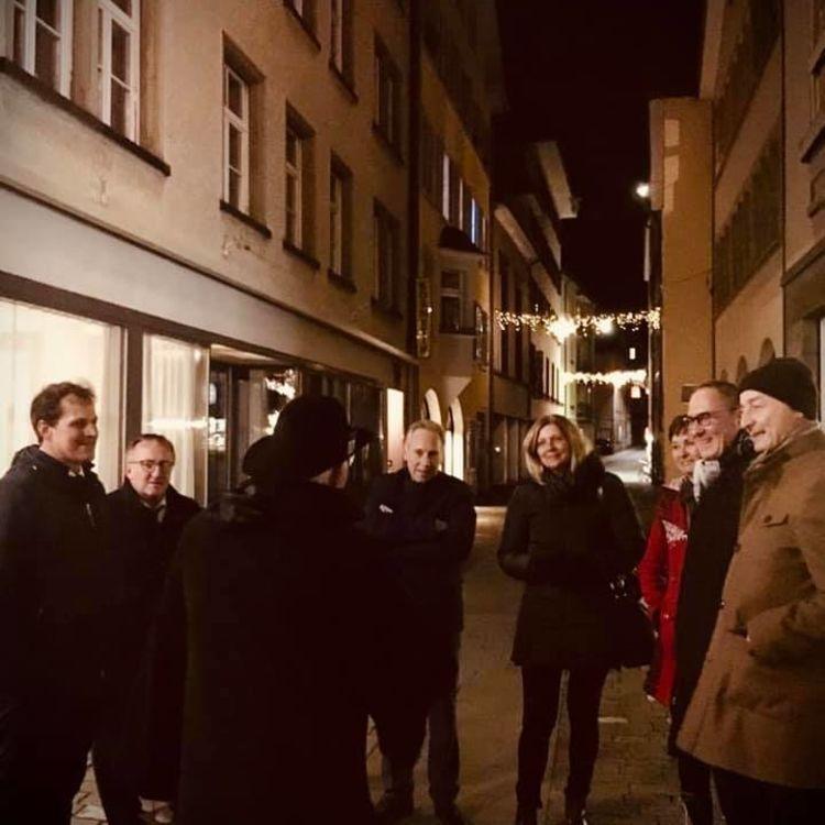 FDP Fraktionsabend mit Besuch der Churer Altstadt